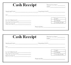 Receipt For Money Paid Template Atlasapp Co