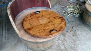 wine barrel tray diy how to make wine