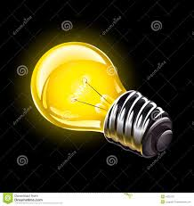 proper lighting. electric bulb lighting illustration stock photos proper i