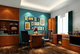 Brown and Blue Walls