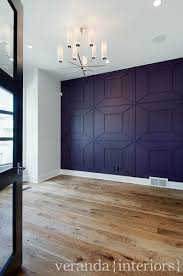 office feature wall. Modren Feature Feature Wall In The Study Contemporaryhomeofficeandlibrary Intended Office Wall N