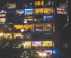 The Cafe Apartment On Saigons Walking Street A Super Hip Building