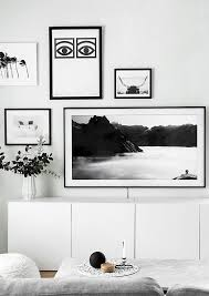 samsung tv picture frame. gallery wall update: a tv that matches our decor samsung tv picture frame