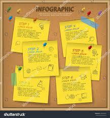 Notice Board Design Templates Education Infographic Template Design Bulletin Board Stock