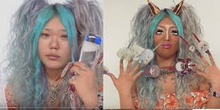 watch a anese high transform herself in bizarre makeup tutorial