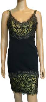 Alexia Admor Black Lace Overlay Short Cocktail Dress Size 10 M 84 Off Retail