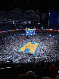 Oklahoma Thunder Arena Seating Chart Photos At Chesapeake Energy Arena