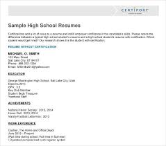 resume examples high school student 10 high school student resume templates pdf doc free