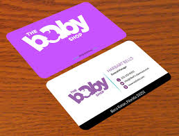 Entry 158 By Alamgirsha3411 For Baby Shop Business Cards Freelancer