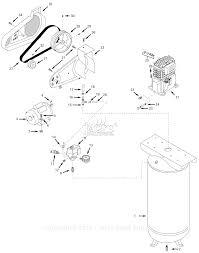 Vt619503 air pressor parts ⎙ print diagram