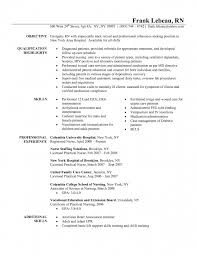 Registered Nurse Resume Templates Stunning New Grad Rn Resume Choice Image Resume Format Examples 48