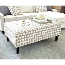 turn ottoman into coffee table topic to top brown leather ottoman coffee tables convert table