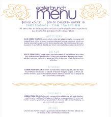 breakfast menu template brunch menu templates free oyle kalakaari co