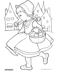 Small Picture Coloring sheets for kids 008