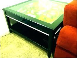 glass top coffee table plans display top coffee table glass top display coffee table with drawers