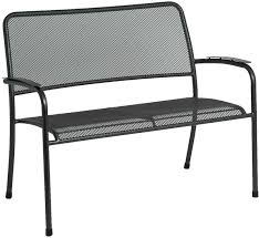 metal mesh patio furniture. Portofino Garden Bench Metal Mesh Image 5 Patio Furniture T