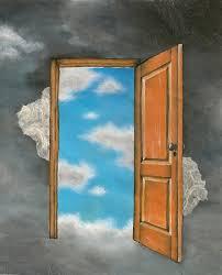 open door painting. When Opportunity Knocks, Open The Door: Donor Acquisition 2017 -  Clairification Open Door Painting I