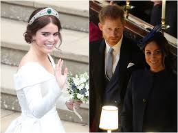 See every photo of her chic arrival here Princess Eugenie Was Upset Over Meghan Markle S Pregnancy Announcement Biography Says