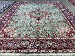 10x13 green hand knotted persian rug iran wool rugs antique woven oriental 10x12 3