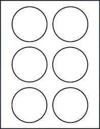 Circle Template Printable Round Printable Labels 6 Circle Sticker