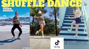 shuffle dance tik tok compilation