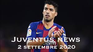JUVENTUS NEWS - 2 SETTEMBRE 2020 - YouTube