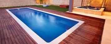 milan lap pool 10m x 3m fibreglass lap pool
