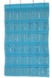 Amazon Com Pocket Charts For Classroom Blue Pocket Chart