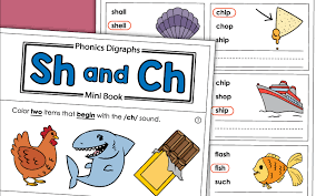 Various sorting or classifying worksheets including cut, sort and paste activities, sorting by property (size, shape, color.) and sorting and counting. Phonics Worksheets Sh And Ch Sounds