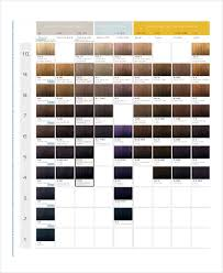 10 Color Chart Templates Samples Examples Free