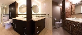 dowsett point master bath and powder room