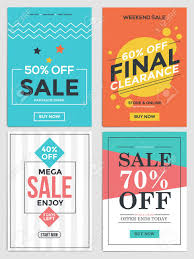 Sales Flyer Templates Ad Flyer Template Flat Design Sale For Websites And Mobile Can Be