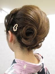 結婚式 留袖 髪型 Gojasu Utsukushidesu