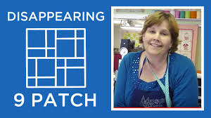 Disappearing Nine Patch Quilt Block Tutorial - YouTube &  Adamdwight.com