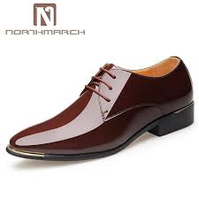 northmarch patent leather men s shoes fashion brand mens italian leather shoes pointed toe business oxford for men derbies