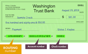 Washington Trust Bank Customer Service 125100089 Routing Number Of Washington Trust Bank In Spokane