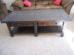 ana white pottery barn benchwright coffee table build diy projects