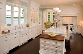 Small Picture Appealing Modern Kitchen With White Kitchen Island Also Marble
