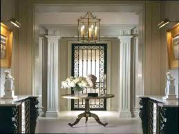 round entrance tables popular entryway table with this foyer picture inside plan console decor ideas entran