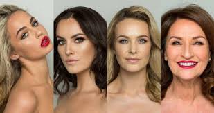 thalia heffernan holly carpenter aoibhin garrihy and celia holman lee in full makeup