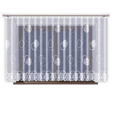 Amazonde Jacquard Gardinen Mit Kräuselband Transparent In Weiß