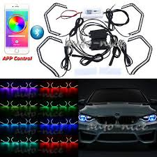 4pc 150SMD RGB Multi Color Glow For BMW Concept <b>M4</b> Iconic ...