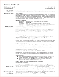 100 Star Resume Format Examples Star Resume Sample Free