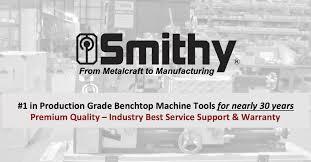 smithy logo. premium machine tools by smithy. smithy logo