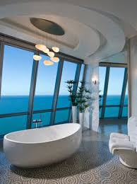 modern master bathrooms. Pfuner Design Has Designed Jade Ocean Penthouse 2 Located In Florida, USA.  From Design: The Square Foot Story Penthouse Is A Modern High-rise, Master Bathrooms