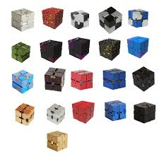 High Texture Infinity Cube <b>Magic Cube Aluminum Alloy</b> Professional ...