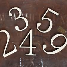 indoor rated unpainted wood numbers font font not listed century schoolbook bt
