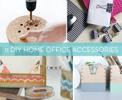 diy office decor. Roundup: 11 DIY Home Office Decor Accessories And Projects Diy Office Decor S