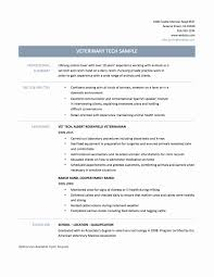 X Ray Tech Resumes Fresh Veterinary Assistant Resume Examples Vet ...
