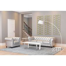 atlas coffee table stone brushed stainless steel